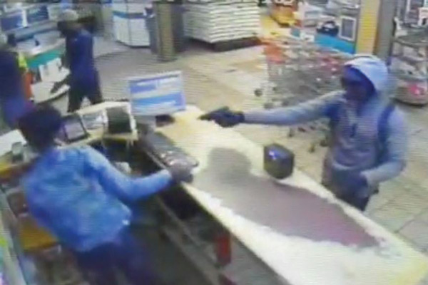 <p>Armed robbery at local retail store</p>