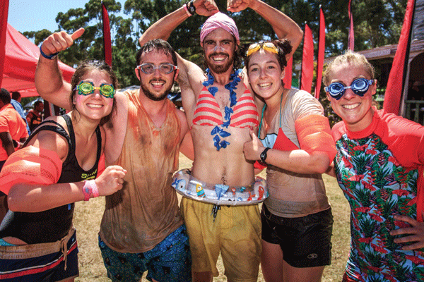 <p>Time to dress up for the<br /> Fedhealth IMPI Challenge</p>