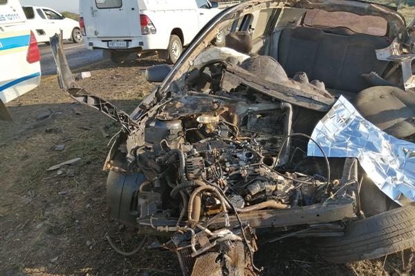 <p>Five people die in head-on collision</p>